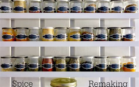 Kitchen Spice Containers 8 Unique Decorating Ideas