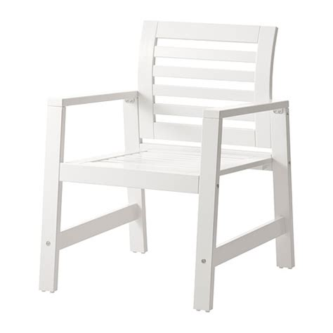 ikea outdoor chairs 196 pplar 214 chair with armrests outdoor white ikea