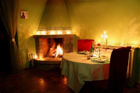 cena a lume di candela a casa casa vacanze weekend romantico colline pisane le