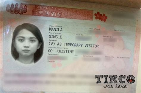 Japanese Visa Criminal Record Tinco Was Here How To Apply A Japanese Tourist Visa For