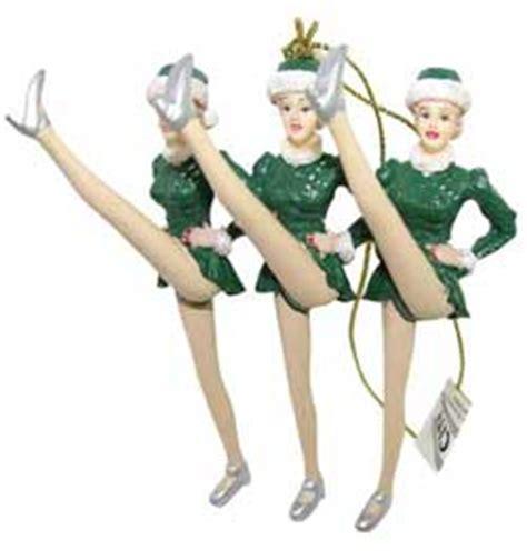 Rockettes Ornaments - radio city rockette ornaments