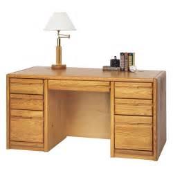 martin furniture 00670 contemporary 60 pedestal desk