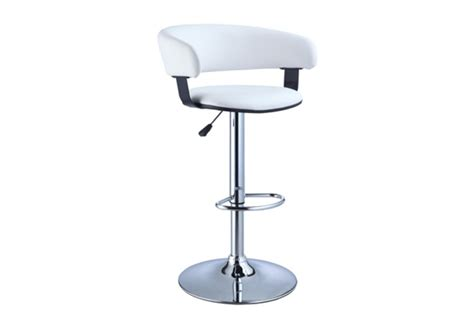 Gardner White Bar Stools by Barrel Back Bar Stool White At Gardner White