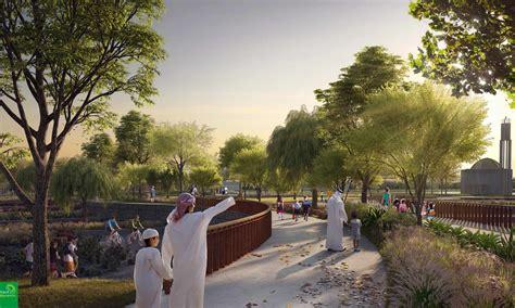 largest park dubai landscape architecture town