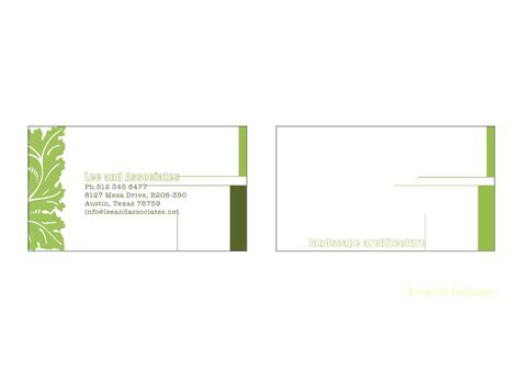 Landscape Architect Business Card Bold Modern Business Card Design For Richard By
