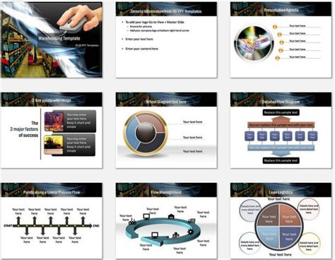 warehouse layout ppt powerpoint templates free download warehouse gallery