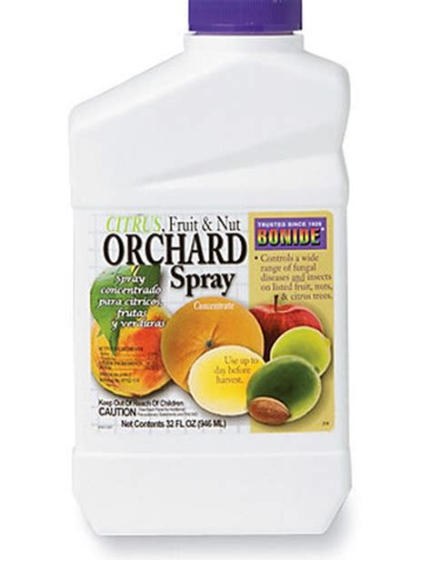 Sprei Orchard Bonide 174 Orchard Spray For Fruit And Nut Trees Gardeners