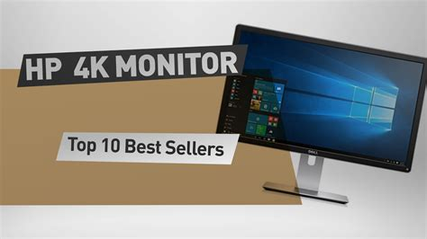 hp 4k monitor top 10 best sellers youtube