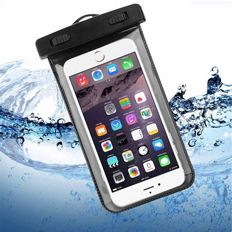 Waterproof Bag For Smartphone Up To 5 5 Pouch Anti Air Lock aliexpress buy waterproof phone for lenovo lemon k5 note k52t38 accessories touch