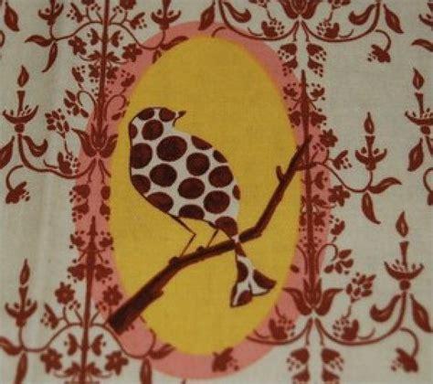 Chandelier Print Fabric Bird And Chandelier Damask Print Cotton Fabric