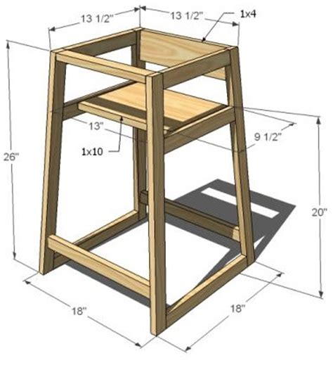 Wooden Doll High Chair Plans by High Chair Plans Wood Work High Chairs