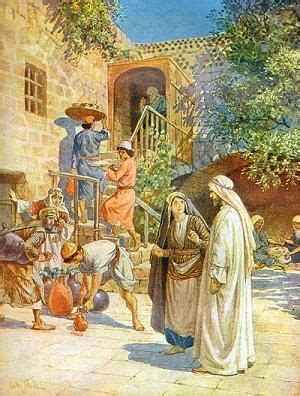 Wedding At Cana Commentary by The Wedding At Cana Of Galilee By William Brassey