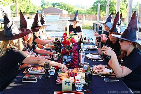 witch halloween party ideas witchs night  living