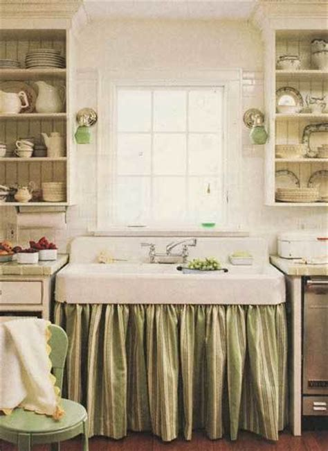 kitchen sink curtains cabinet curtains ultimate in quot cottage quot i antique online