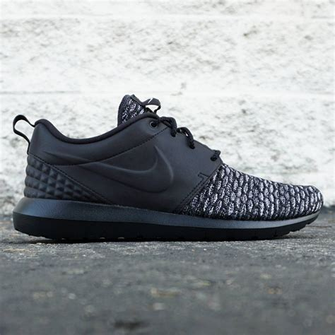 Nike Flyknit Premium nike roshe nm flyknit premium black grey white