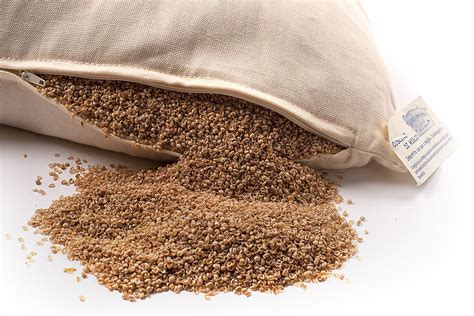 Millet Pillow by Pillow Filled With Organic Millet 40x60cm