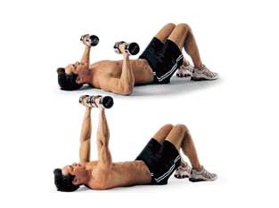floor bench press best workouts to get ripped in no time fast workout