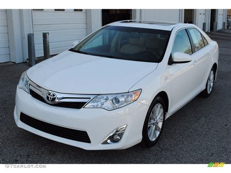 2014 white toyota camry xle 118949794 gtcarlot