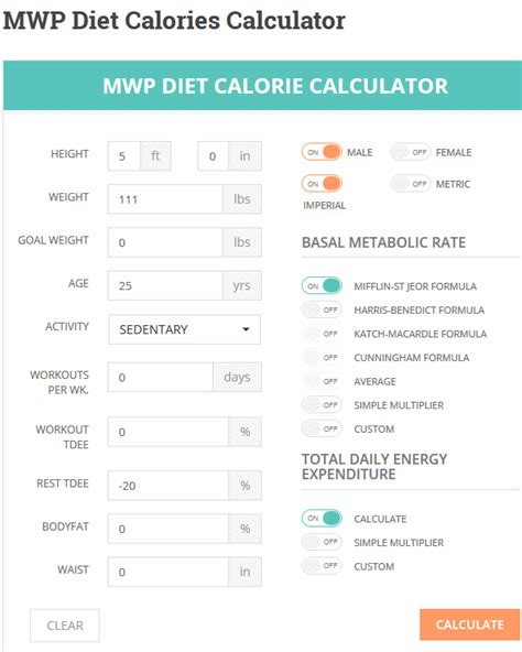 calculator diet 2 calorie counter plugins for wordpress wp solver