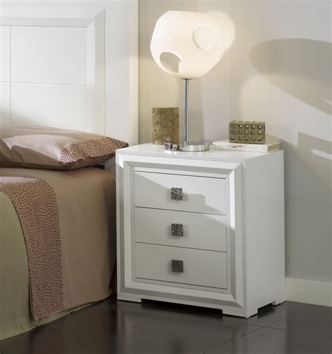 mesitas noche blancas mesas de noche blancas muebles bonitos u mesita de