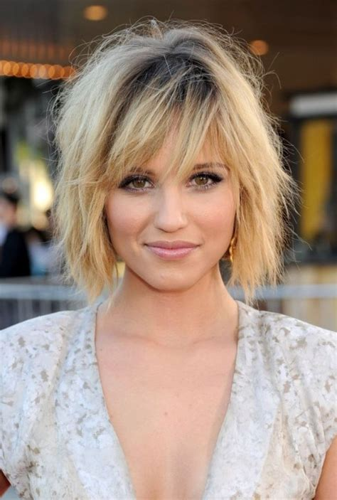 Bob Hairstyles With Bangs by Bangs With Wavy Bob 17 Best Ideas About Layered