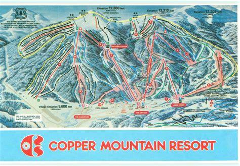 copper trail map copper mountain resort trail map ski butlers