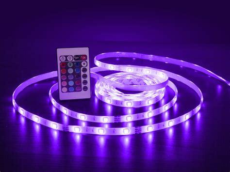 led lichtleiste bunte beleuchtung mit selbstklebende lichtleiste