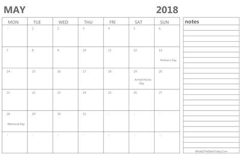 Calendar September 2017 To May 2018 May 2018 Calendar Max Calendars