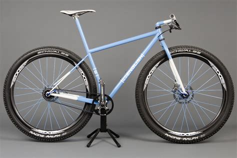Handmade Cycles - lightest chromoly steel 29 quot frame mtbr