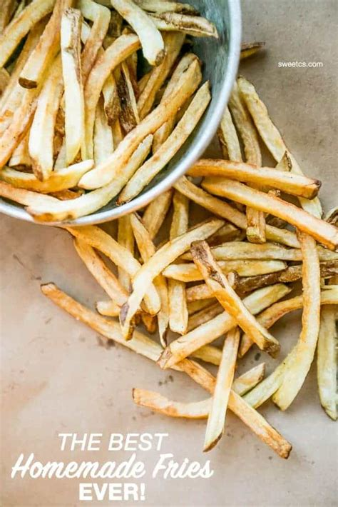 the best fries flash fry method sweet
