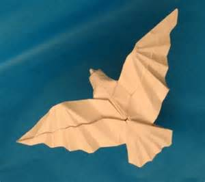 Origami Of A Bird - origami flying bird indesign arts and crafts origami