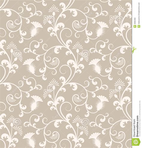 background pattern free seamless seamless floral wallpaper pattern stock vector