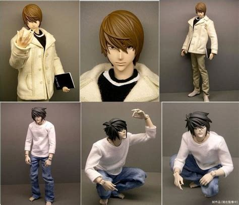 l figure note figure dolls l and light yagami by