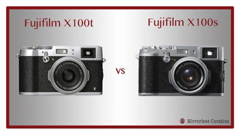 fuji x100s the 10 key differences between the fujifilm x100s and x100t