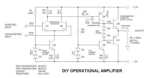 integrated operational lifier theory how do you if a circuit is an lifier the student room
