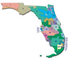 senate districts map abate of florida inc legislative area