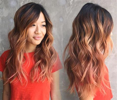 rose gold hair dye dark hair 65 rose gold hair color ideas for 2017 rose gold hair