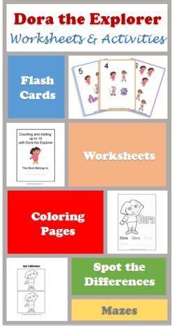dora printable preschool activities 1000 images about dora on pinterest preschool