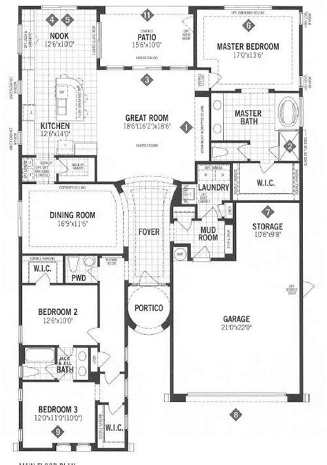 mattamy floor plans elegant mattamy homes floor plans new home plans design
