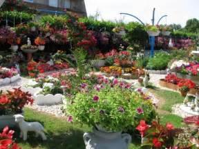 exemple de jardin fleuri