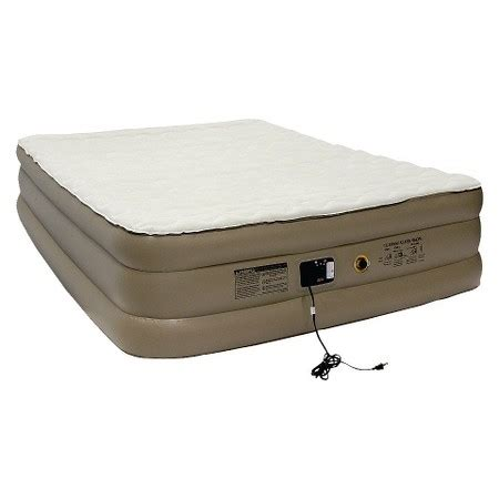 Air Mattress With Pillow Top by Coleman 174 Airplush Elite Pillow Top Air Mattress