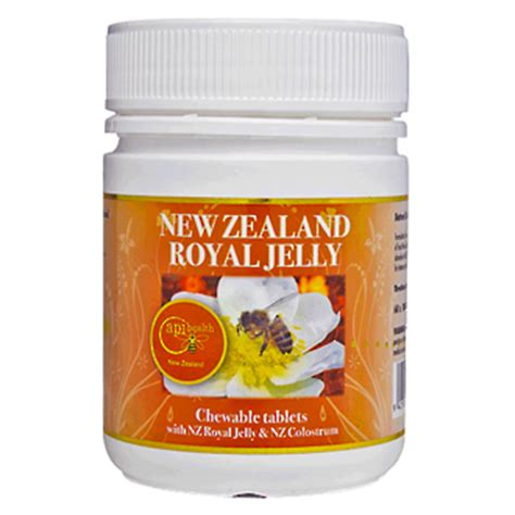 Honey Jelly Original New Pack royal jelly tablets 120 x 1000 mg royal jelly health