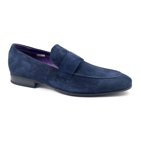 navy loafer shop mens navy suede loafers gucinari mens loafers