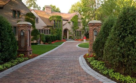 home driveway design ideas sullivanridge s ideas entry columns and brick driveway