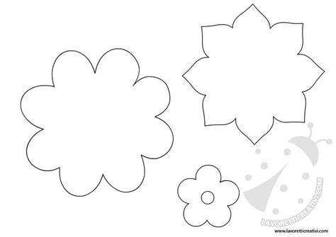 sagome fiori di carta sagome per realizzare il cestino di pasqua lavoretti