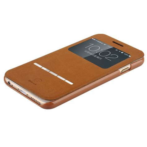 Baseus Lustre Series For Iphone 6 Plus 6s Plus 1 baseus terse series brown iphone 6