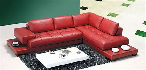 red leather sectional couches home design the best red leather sofa design