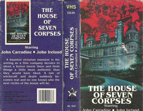the house of seven corpses the house of seven corpses horrorpedia