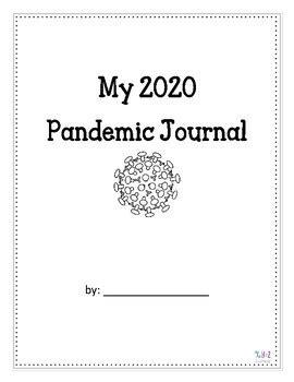 Pandemic Journal Coronavirus COVID by XYZ Learning | TpT