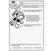 Pedagogia S&233culo XXI ATIVIDADES MARCHINHAS DE CARNAVAL II